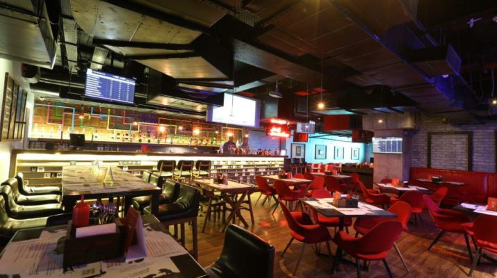 Catch all T20 action LIVE at SMAAASH Noida Pub Exchange 2