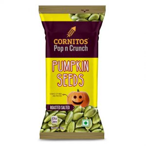 Cornitos Roasted Salted Pumpkin Seeds - Make your snack time tastier and healthier Vertical
