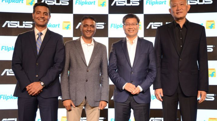 Flipkart and ASUS announce long term strategic partnership for India 2