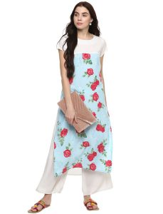 Floral Kurtas- Available at ShopClues - MEIA store