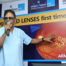 MaxiVision Eye Hospitals successfully carries out ARMD surgery in Hyderabad