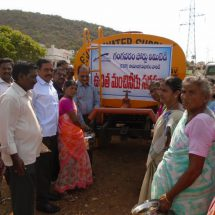 Gangavaram Port launches drinking Water Distribution Program for nearby villages
