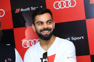 Indian Cricket Team Captain Virat Kohli at the Audi RS 5 Coupe Launch In Bangalore