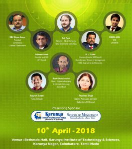 Karunya Institute of Technology and Sciences to organise The Coimbatore Digital Summit 2018 2