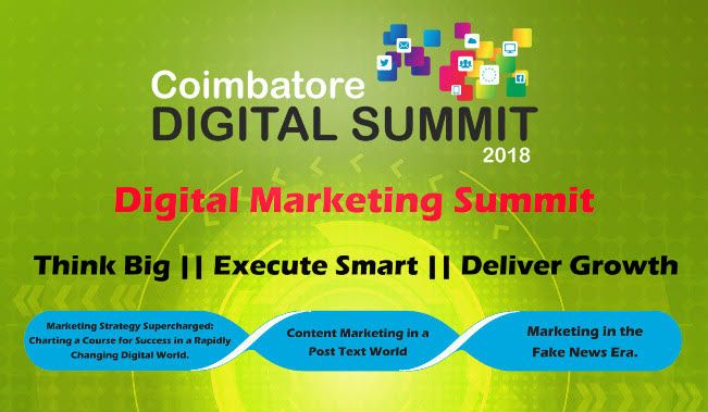 Karunya Institute of Technology and Sciences to organise The Coimbatore Digital Summit 2018