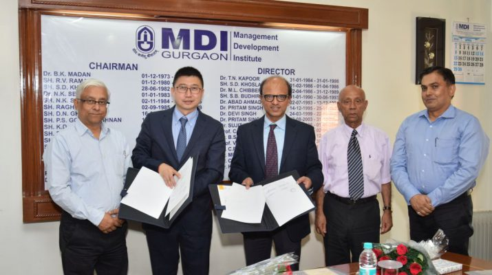 MDI Gurgaon takes a giant leap in international collaboration and join hands with ESCP Europe