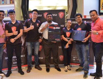 MSI India team - MSI to begin Pre-Orders of its 8th Gen Gaming Laptops in India including GE Raider