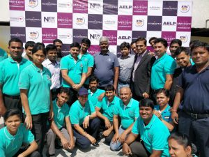 Mercure Hyderabad KCP commissions Solar Hot Water System - Mercure Team