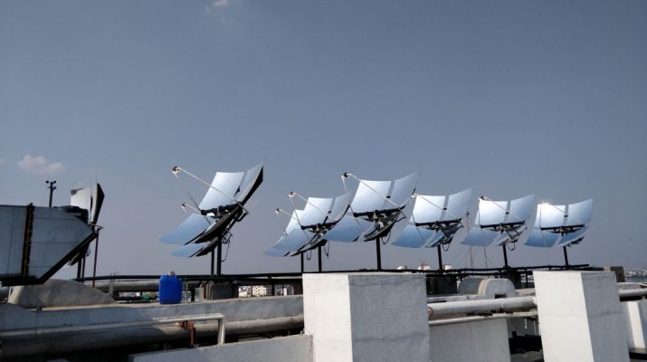 Mercure Hyderabad KCP commissions Solar Hot Water System - Solar panels