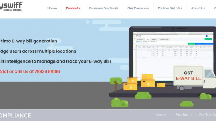 Payswiffs E-way bill - One stop shop for any product and transaction
