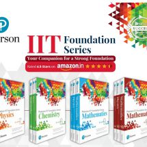 Pearson India launches a series of preparatory books for IIT Foundation