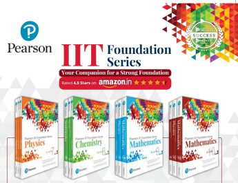 Pearson India launches a series of preparatory books for IIT Foundation JEE