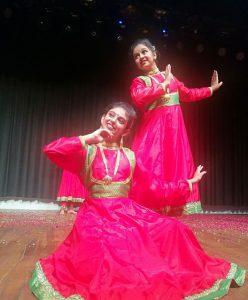 Powerful Kathak performance By Student Of Dhriti Nritya Academy at UDYAM 2018 2
