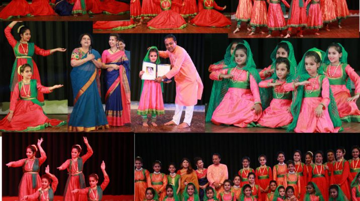 Powerful Kathak performance By Student Of Dhriti Nritya Academy at UDYAM 2018