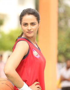 Prachi Tehlan came up to stand with P T Usha as a sports player