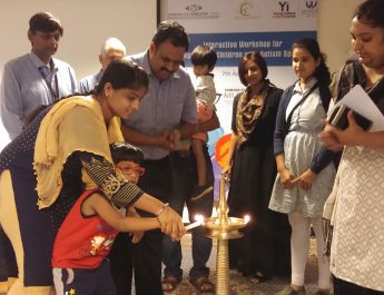 Sankara Eye Hospital - Young Indians - CII organize Interactive Workshop for 65 Caregivers of Children with Autism Spectrum