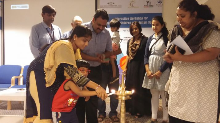 Sankara Eye Hospital - Young Indians - CII organize Interactive Workshop for 65 Caregivers of Children with Autism Spectrum