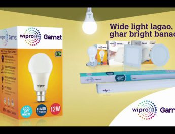 Wipro Lighting launches Wider light for brighter homes ad campaign