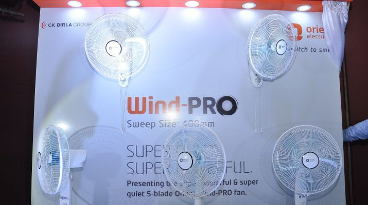 Orient Electrics launches new 5-blade Wind-PRO fans