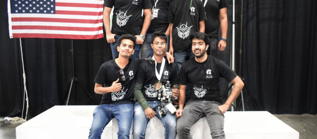 2 Golds and 1Bronze medal for SRM IST in RoboOlympics 2018