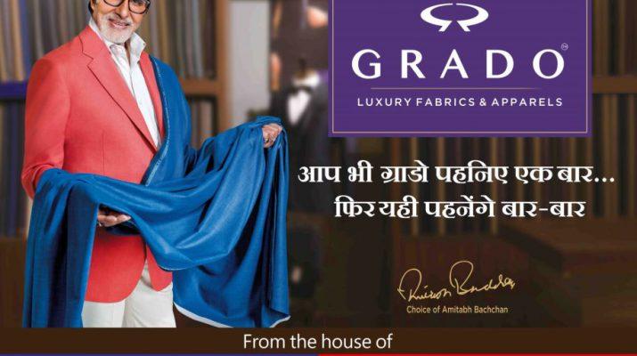 Amitabh Bachchan - brand ambassador - GRADO