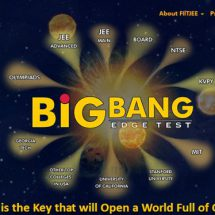 FIITJEE's Big Bang Edge Test is on 14th October 2018