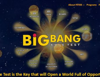 FIITJEEs Big Bang Edge Test is on 14th October 2018