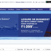 Fly smart with GoAir for fares starting at Rs 1,099