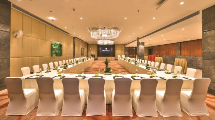 JW Marriott New Delhi Aerocity launches its new hi-end event space - The Gallery Room 2
