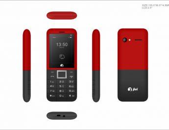 Jivi Mobiles Banana 6 black Phone