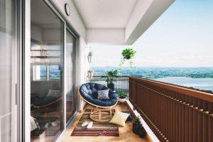Mahindra World City - Lakewoods - Balcony