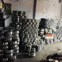 MILTON seizes counterfeit products at Rohini in Delhi