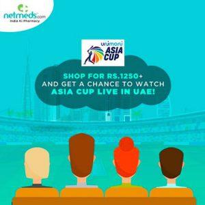 Netmeds - Asia Cup 2018 - Dubai - 2