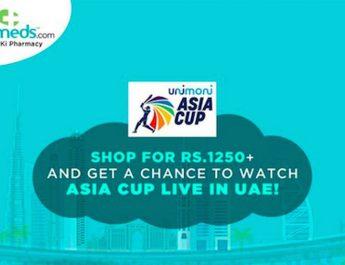 Netmeds - Asia Cup 2018 - Dubai