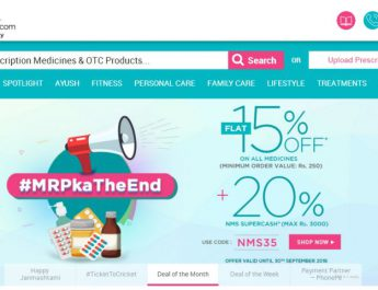 Online Pharmacy Netmeds Secures 35 Million dollars Series C Funding