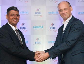 Peeyush Khare - Circle General Manager - Maharashtra - BSNL - Jurgen Hase - CEO - Unlimit
