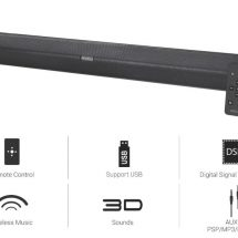 Portronics Unveils Versatile and Powerful Multimedia Soundbar Sound Slick II