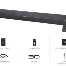 Portronics Unveils Versatile and Powerful Multimedia Soundbar Sound Slick II