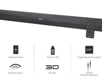 Portronics Unveils Versatile - Powerful Multimedia Soundbar Sound Slick II 2