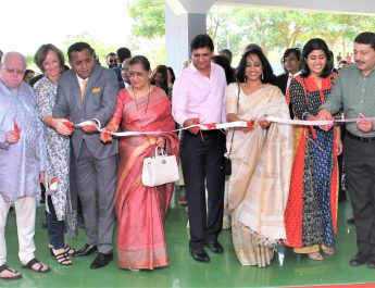 Prakash Padukone Inaugurates World Class Sports Hall at Stonehill International School