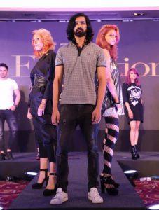 TIGI models showcasing the TIGI Retrospective Collection