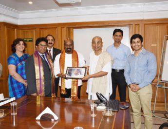 The Akshaya Patra Foundation appoints Chef Ramasamy Selvaraju of Vivanta by Taj - Bengaluru its Goodwill Ambassador