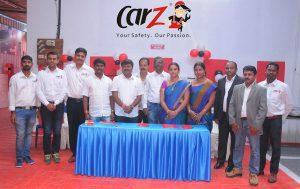 Venu Donepudi - CarZ Founder MD with CarZ Bengaluru Team 1