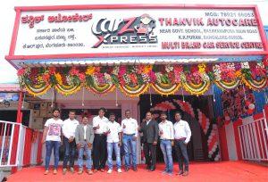 Venu Donepudi - CarZ Founder MD with CarZ Bengaluru Team