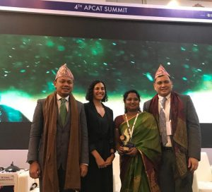 Bengaluru Wins Global Prize for Implementing Smoke-Free Laws - APCAT award