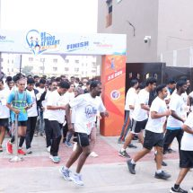 "Aster RV and Aster CMI Hospitals in association with Aster Volunteers organized ""BE YOUNG AT HEART"" 5K RUN to create awareness on World Heart Day"