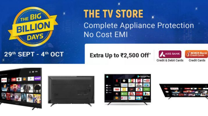 Europes Leading Brand Thomson TV offers Indias most affordable TV at INR 6999 on Flipkart Big Billion Day sale 2019