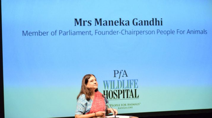 Mrs Maneka Gandhi - People for Animals