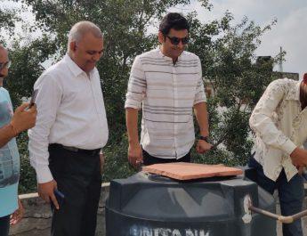 Shri Somnath Bharti AAP MLA with RED FM RJ Rocky at Malviya Nagar - Paani Yaad Dila Denge - Water Leakage