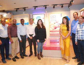 Actress Nikita Bisht Launches Sleepwell world Retail Showroom at Gachibowli 5